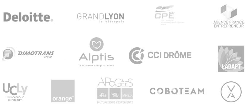 Logo clients du Groupologue